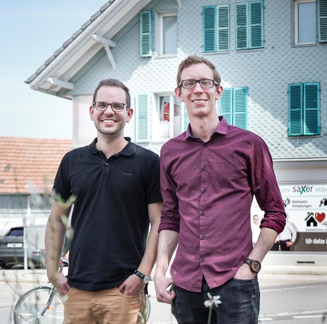 Sascha und Yves Saxer